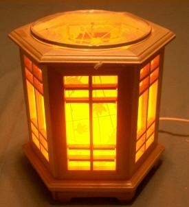 oil warmer, tart burner, electric wood box d443