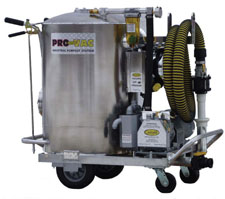 Cond� ProVac Portable Industrial Pump Out Station