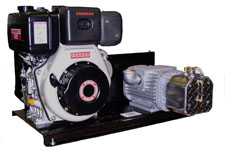 Cond Diesel Engine Vacuum Units