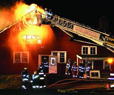 Summit Red Barn burns