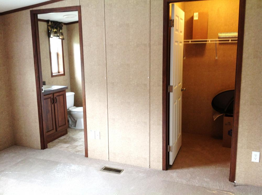Master bedroom, closet and door to Masterbath