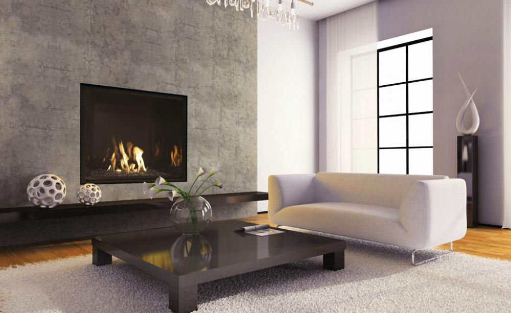 Mendota Full View FV41 Mod - Gas Fireplace