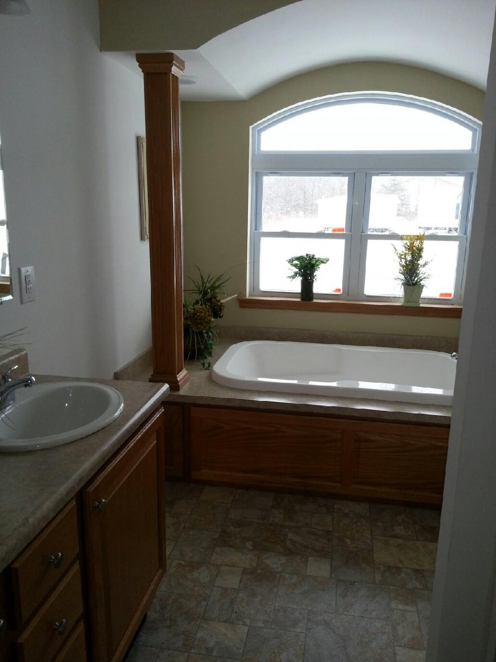 Large Master Bath with Soaking Tub