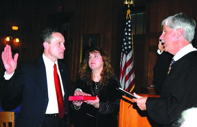 Lopez sworn in for fourth term