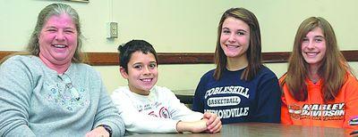 Middle schoolers get prime seats at Gov
