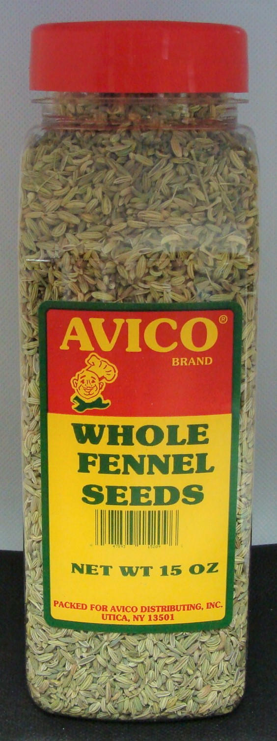 Fennel Seed Whole 15 oz.