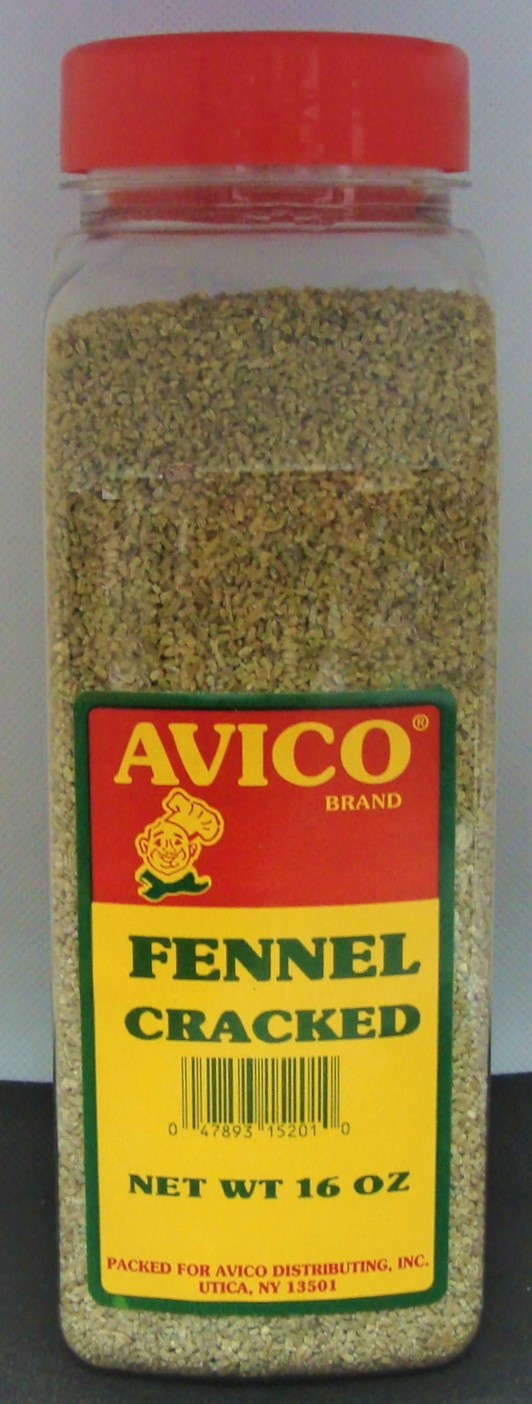 Fennel Seed Cracked 16 oz.