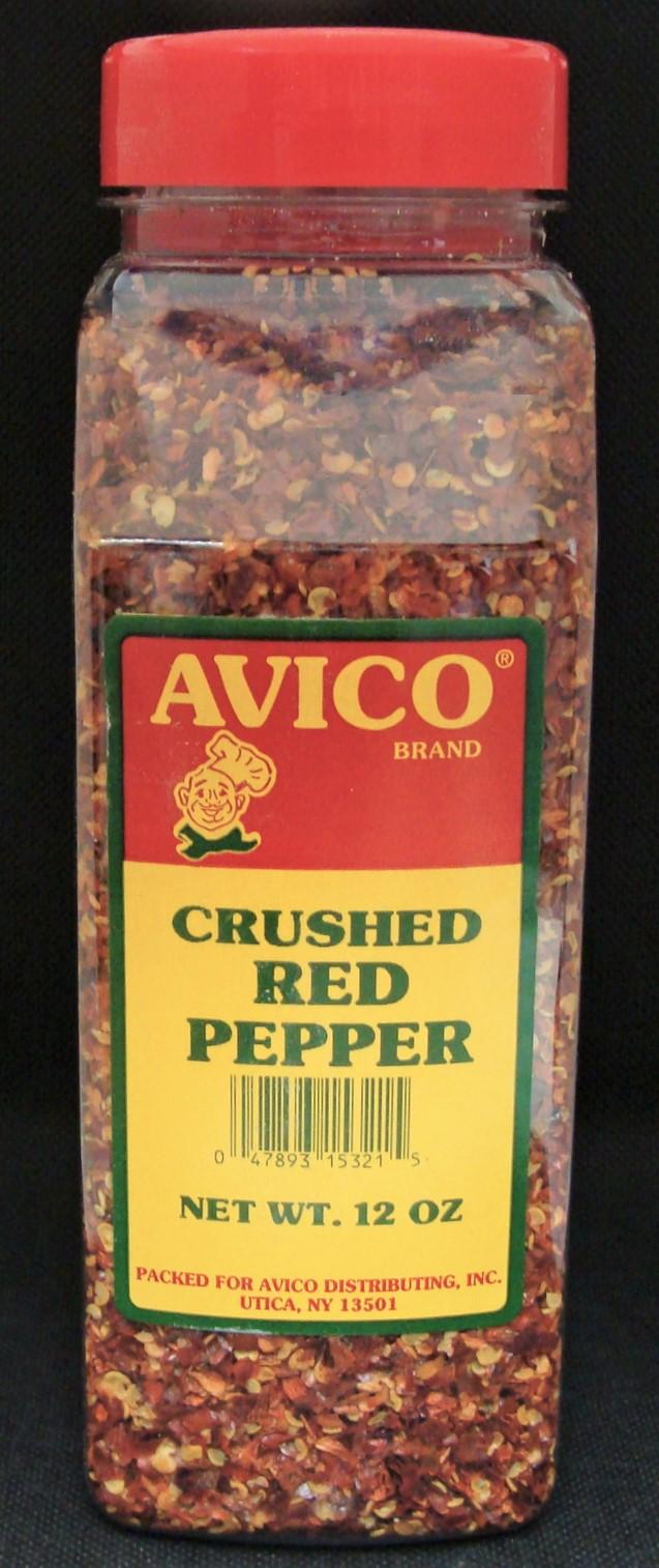 Pepper Red Coarse Crushed 12 oz.