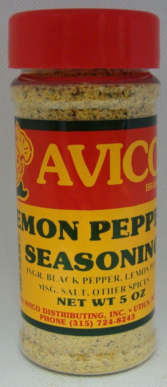 Pepper and Lemon Seasoning 24 oz.