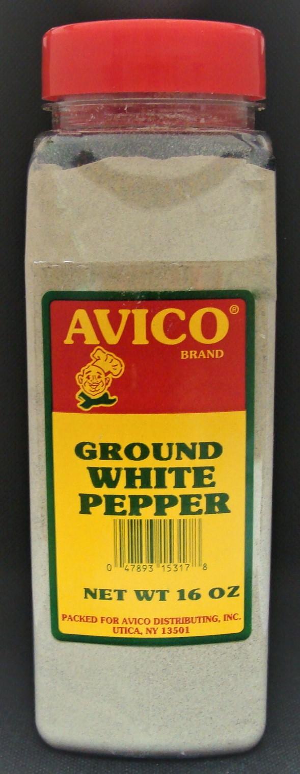Pepper White Ground 16 oz.