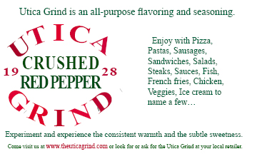 Red Pepper Crushed UTICA GRIND 3 oz.