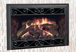 Mendota Gas Fireplace Inserts (D30 and D40)