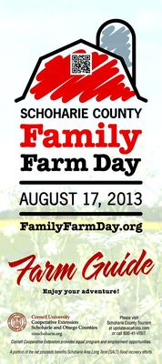 August 17 Family Farm Day combines agriculture, tourism