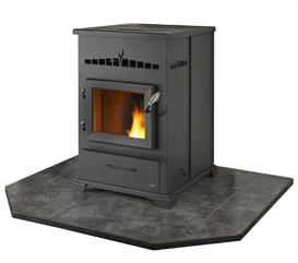 Heatilator Eco-Choice Pellet Stove - CAB 50 Stove