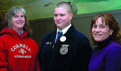 C-R freshman gets one of three state FFA grants