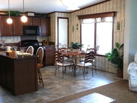 Open Kitchen Nook Area