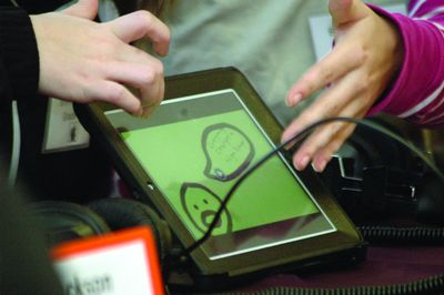 SSCS shows off its iPads