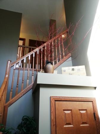Heading upstairs...
