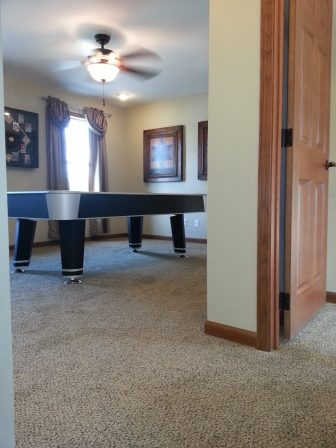 Game room or optional bedroom.