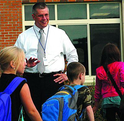 New C-R superintendent helps kick off new school year