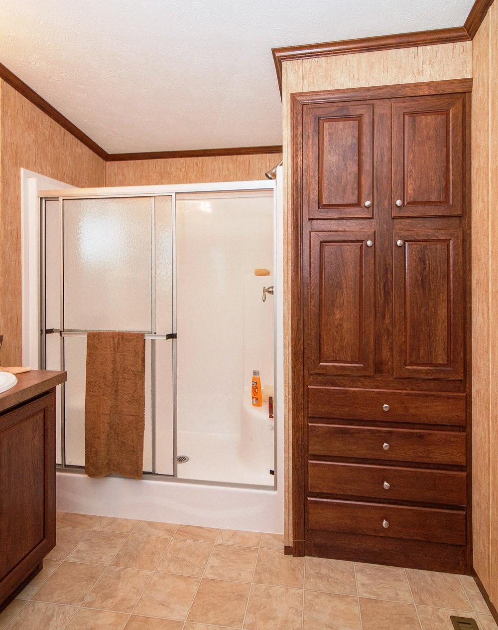 Great Storage in Master Bath