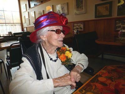 100-year milestone for Shirley Skinner, writer, reader