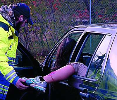 CRH, EMS learns from mock crash