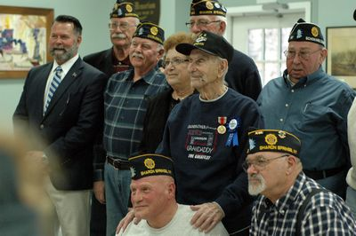 D-Day vet honored on 98th birthday
