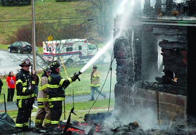 Fire levels Carlisle barn