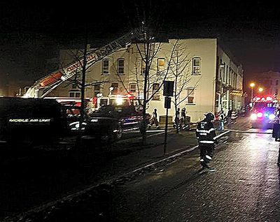 Early morning fire hits T-J; papers still out