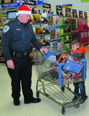 Cobleskill PD takes kids shopping for Christmas