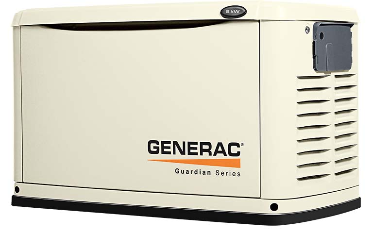 Generac 8KW with 10 Circuit Switch
