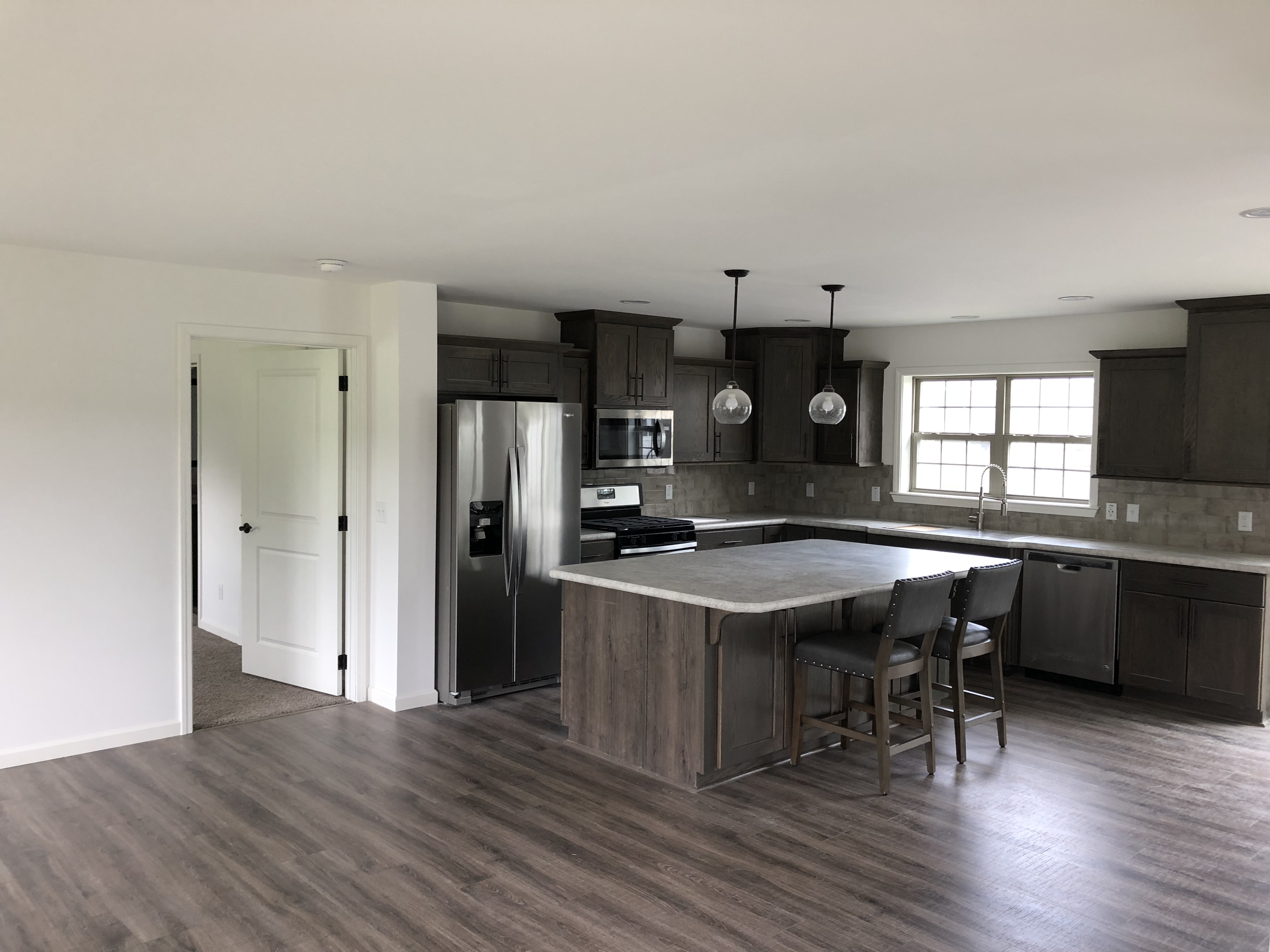 Huge Island and Large Kitchen