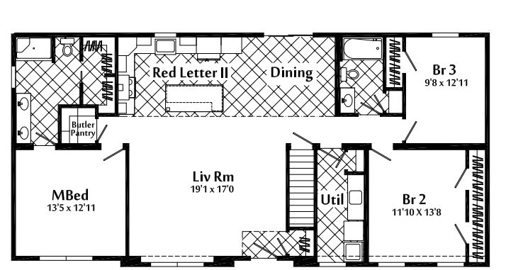 Floor plan as displayed.