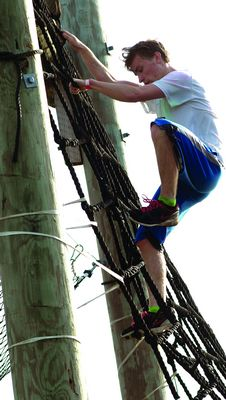 16-year-old Ben Healy blows them away at Patriot Highlander Challenge