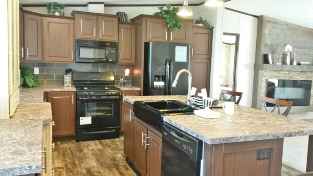 Staggered Kitchen Cabinets, included in the Prime Series