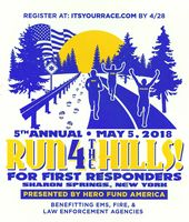 Run 4 the Hills for First Responders: Are you up to the challenge?