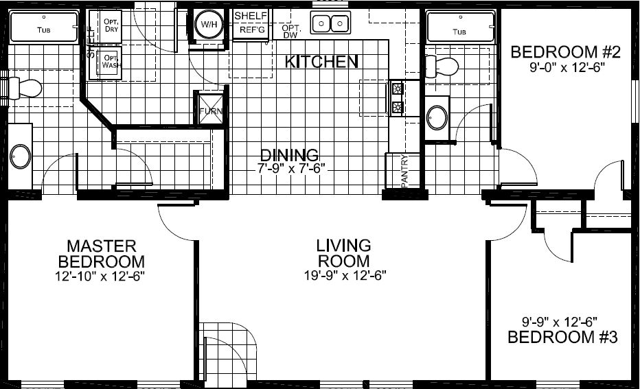 The Std Plan, ASK About The 4 Bedroom Plan
