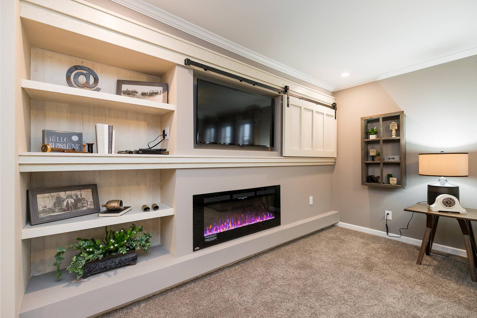 Optional Entertainment Center ~ not in Display Model
