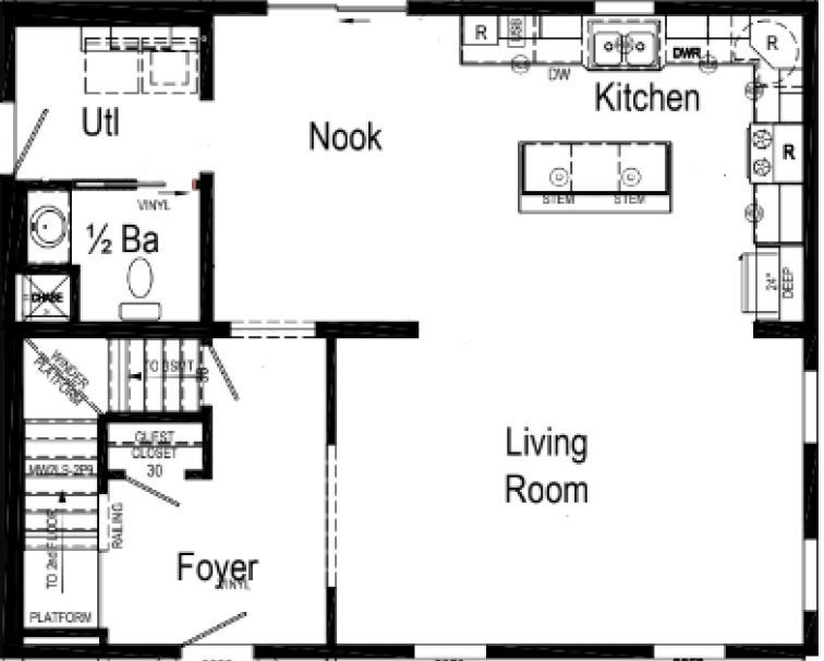 We Have an Optional 4 Bedroom Layout.