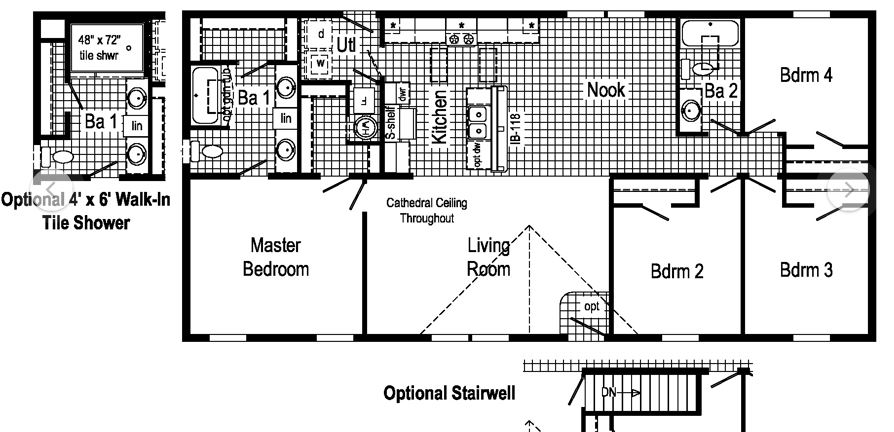 This Layout Available As A Modular