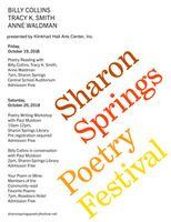 All-star lineup for Klinkhart Poetry Fest
