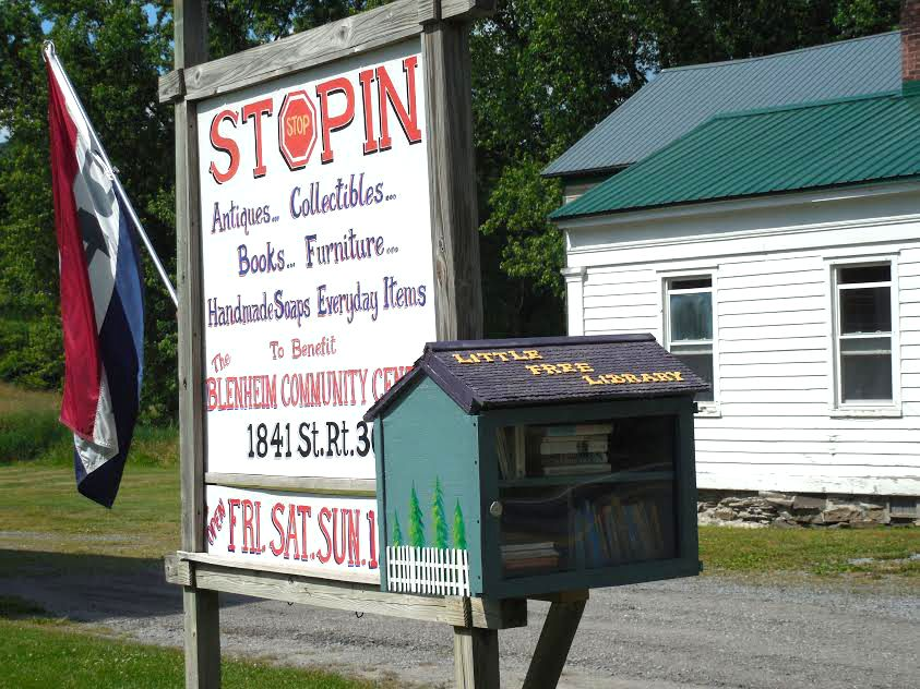 Little Free Library opens in Blenheim
