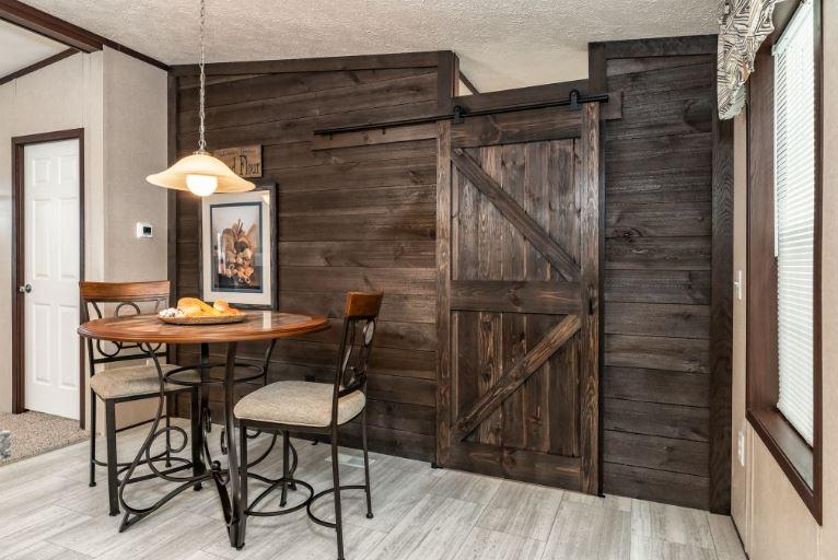 Ship Lap Plank and Barn Door