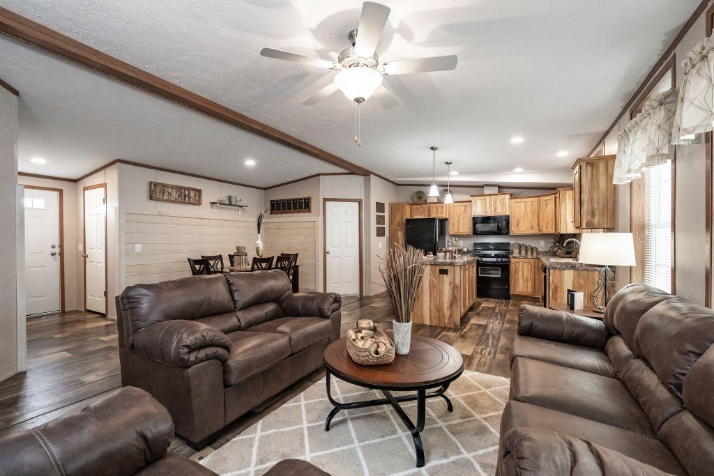 A Huge Living Room For A Price Leader.
