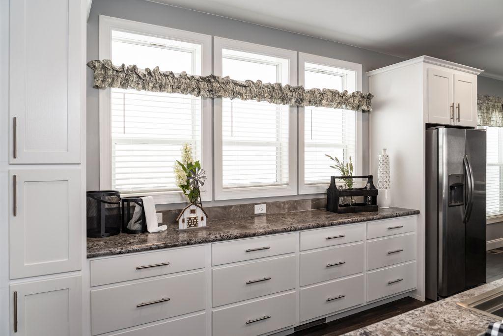 Transom Windows In The Kitchen