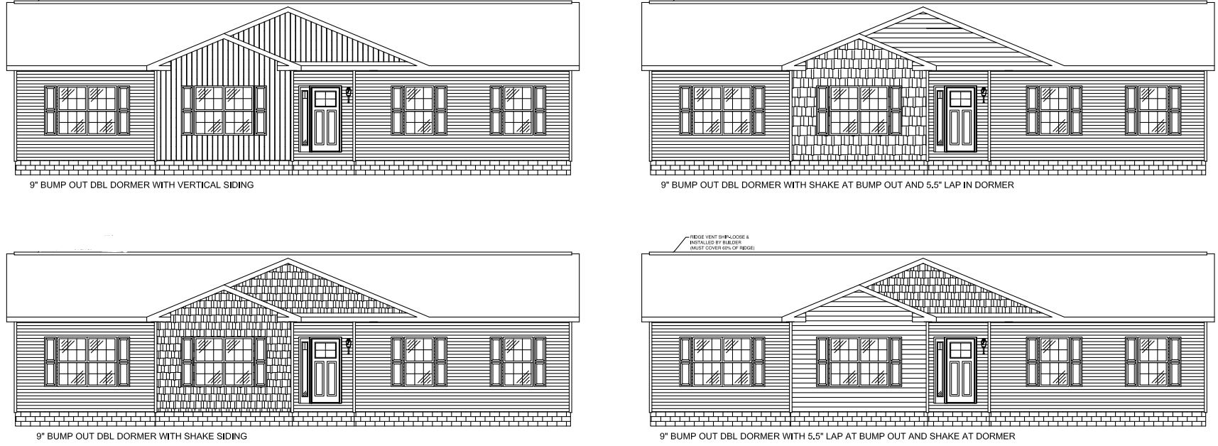 Optional Elevations On A 5/12