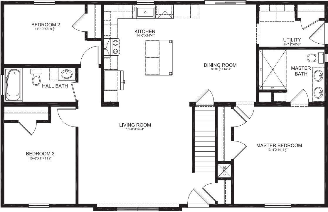 Floorplan with 8