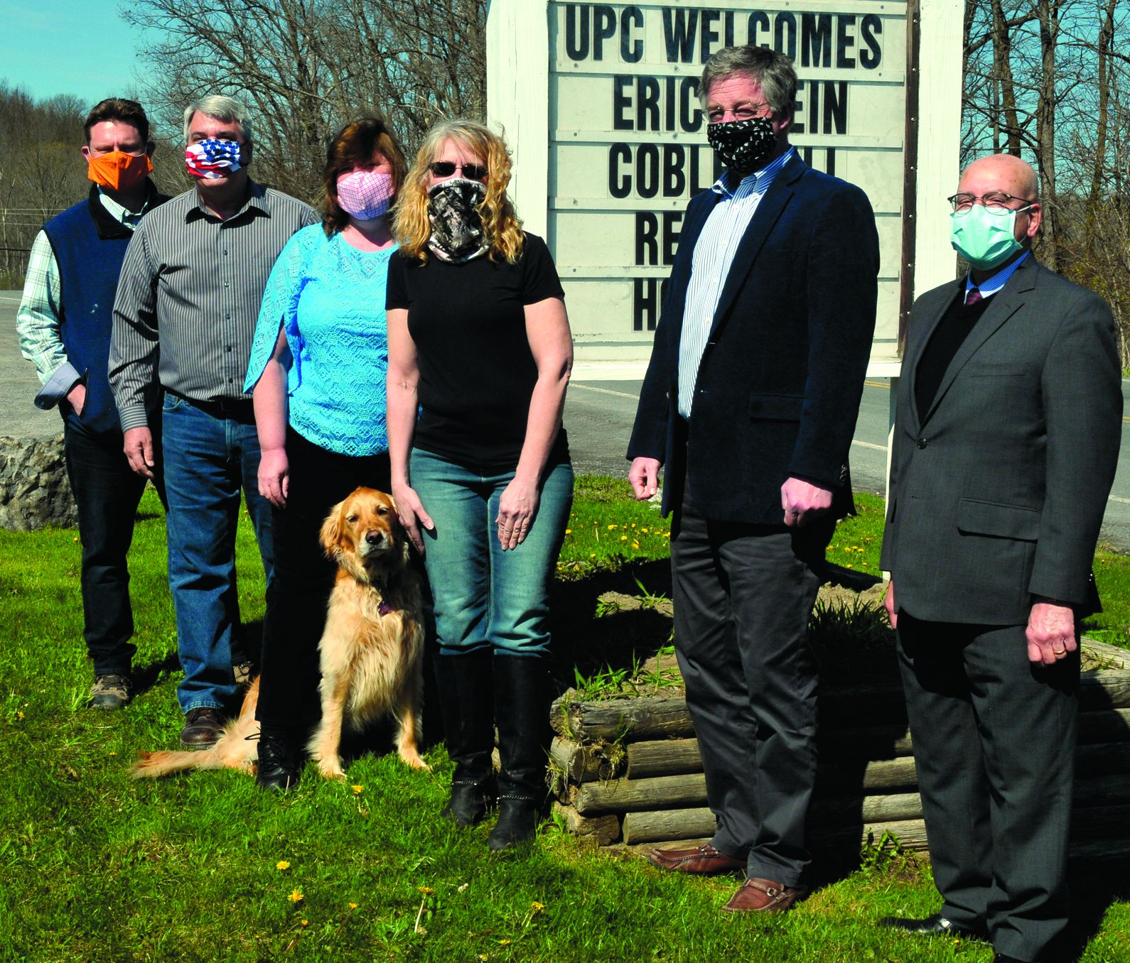 Universal Plastics pitches in with face shields