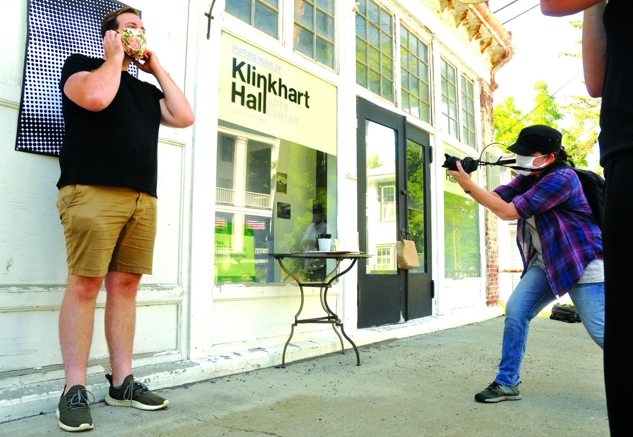 Show us your face: Street art in Sharon Springs